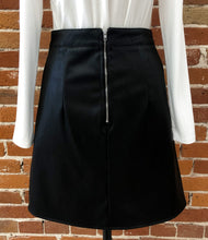 Load image into Gallery viewer, Mara Black Leather Skirt