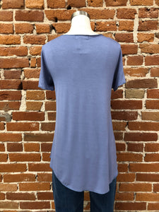 Everyday Short Sleeved Tee in Cornflower