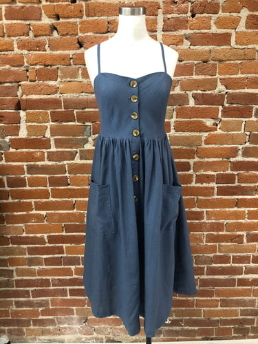 Berit Dress in Blue