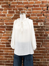 Load image into Gallery viewer, Sofia Blouse in White