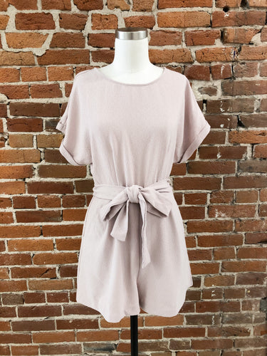 Judy Romper in Blush