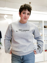 Load image into Gallery viewer, Aint Laurent Sweatshirt in Heather Grey