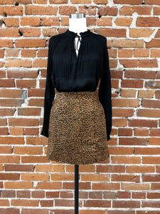 Indiana Skirt in Leopard