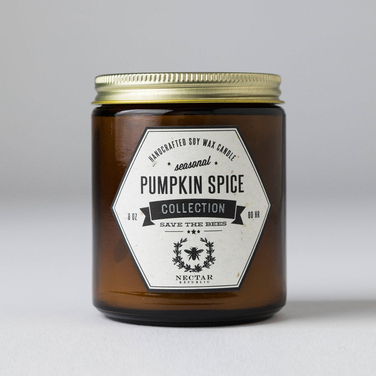 Pumpkin Spice Jar Candle