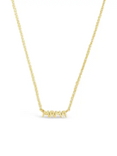 Load image into Gallery viewer, Mama Necklace in Gold Vermeil by Sierra Winter Jewelry