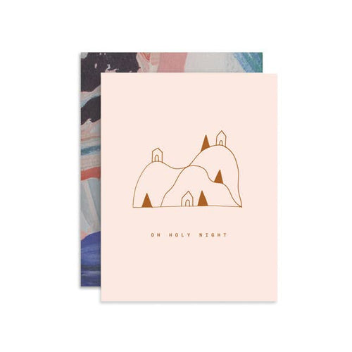 Oh Holy Night Holiday Card - FINAL SALE
