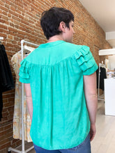 Load image into Gallery viewer, Jessica Blouse in Emerald