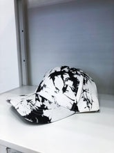 Load image into Gallery viewer, Kenzie Hat in Black Tie Dye