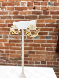 Wonder Hoops in Gold