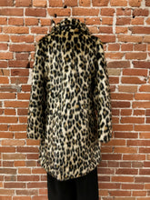 Load image into Gallery viewer, Adrianna Faux Leopard Coat - FINAL SALE