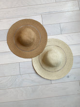 Load image into Gallery viewer, Cozumel Straw Hat in Ivory