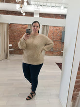 Load image into Gallery viewer, Tamika Chunky Knit Sweater in Oat