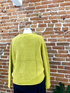 Genevieve Sweater in Mustard