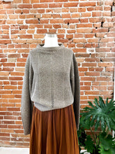 Load image into Gallery viewer, Lurex Sweater in Metallic Copper