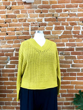Load image into Gallery viewer, Genevieve Sweater in Mustard