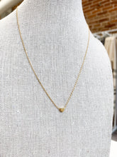 Load image into Gallery viewer, Tiniest Heart Necklace in Gold