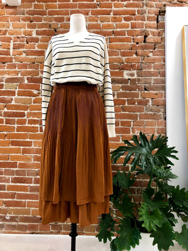 Florence Skirt in Rust