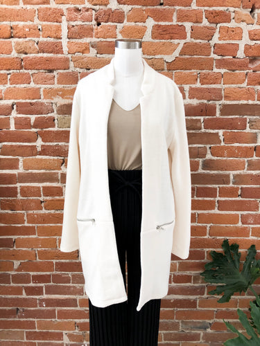 Aurelia Jacket in Cream