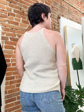 Load image into Gallery viewer, Vivica Sweater Tank in Taupe