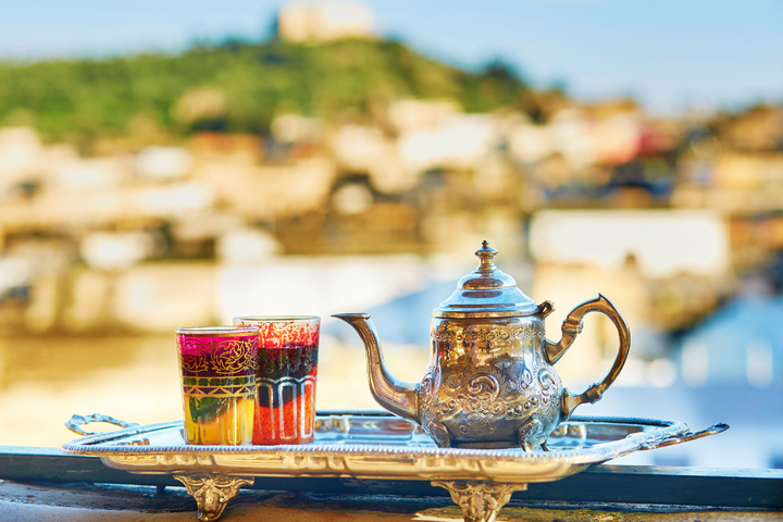 Moroccan tea tradition