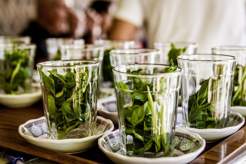 Moroccan mint tea leaves
