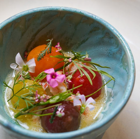 Vestige tea inspired spring nights dish