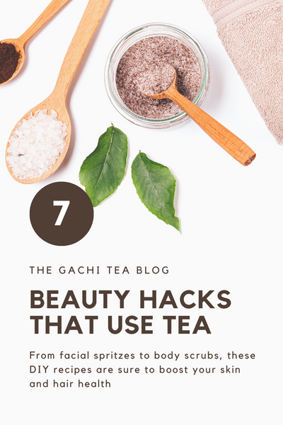 7 Beauty Hacks That Use Tea