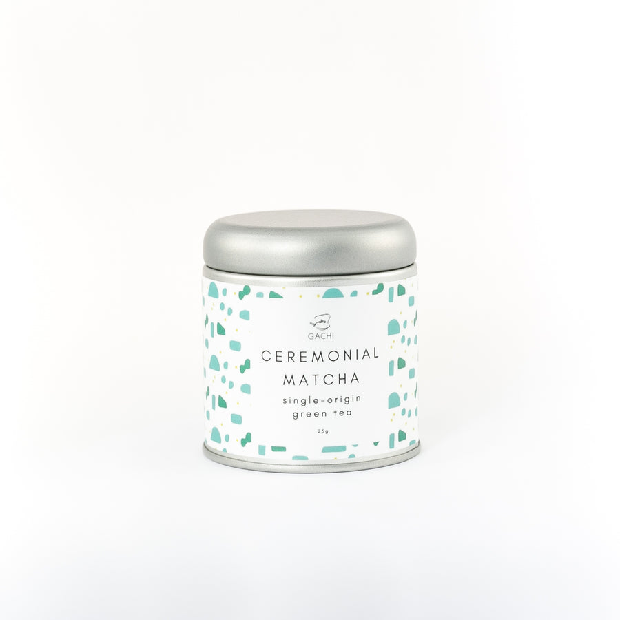Ceremonial Matcha | Premium Green Tea | Design Tin | Gachi