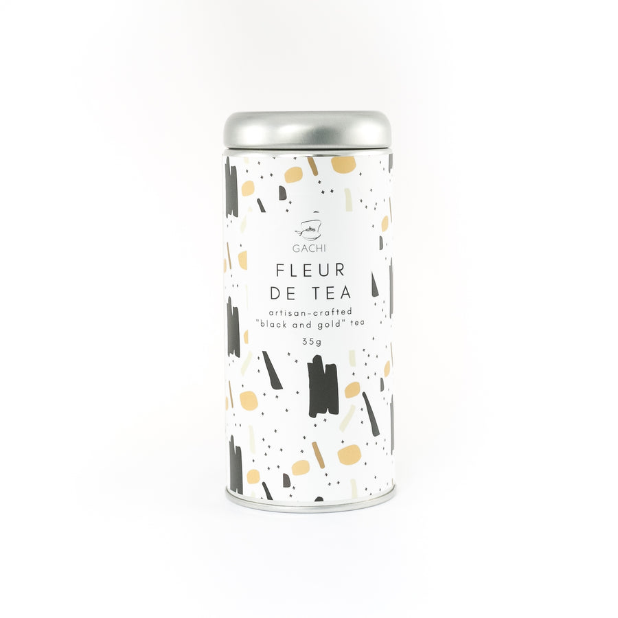 Fleur de Tea | Premium Loose Leaf Black Tea | Design Tin | Gachi