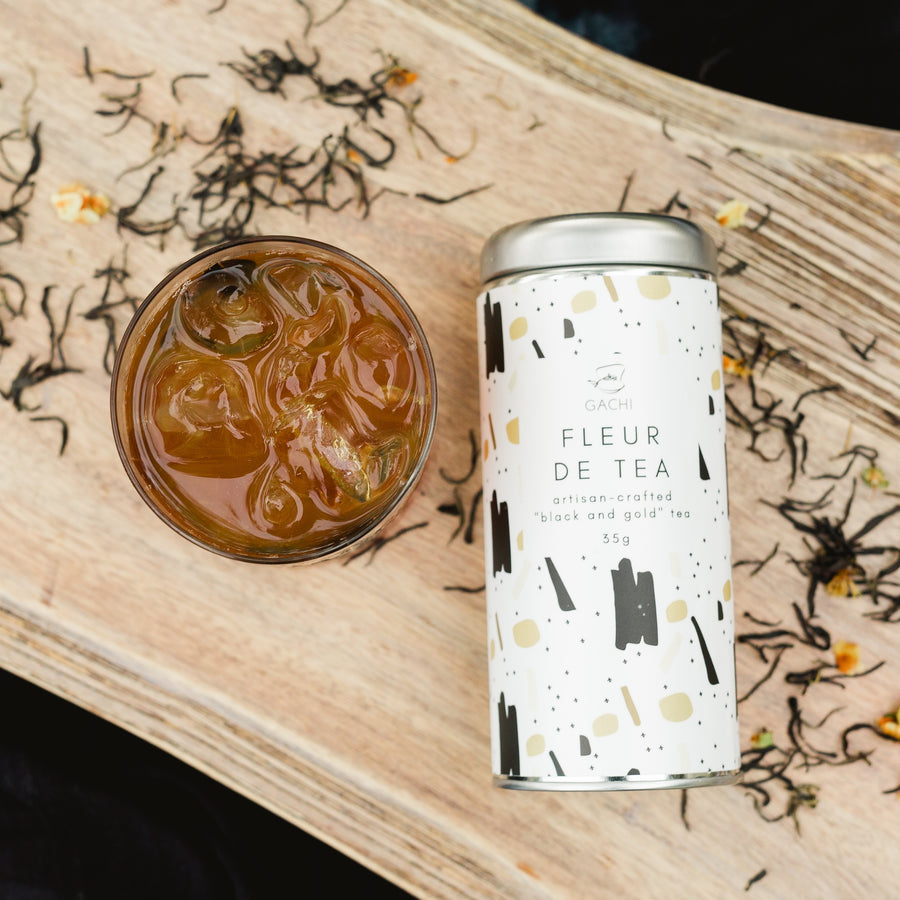 Fleur de Tea | Premium Loose Leaf Black Tea | Iced Tea | Gachi