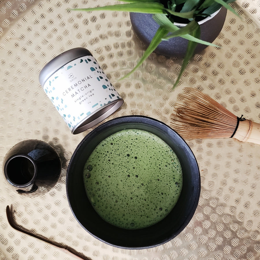 Ichi-go Ichi-e Chawan | Modern Matcha Bowl Collection | Gachi