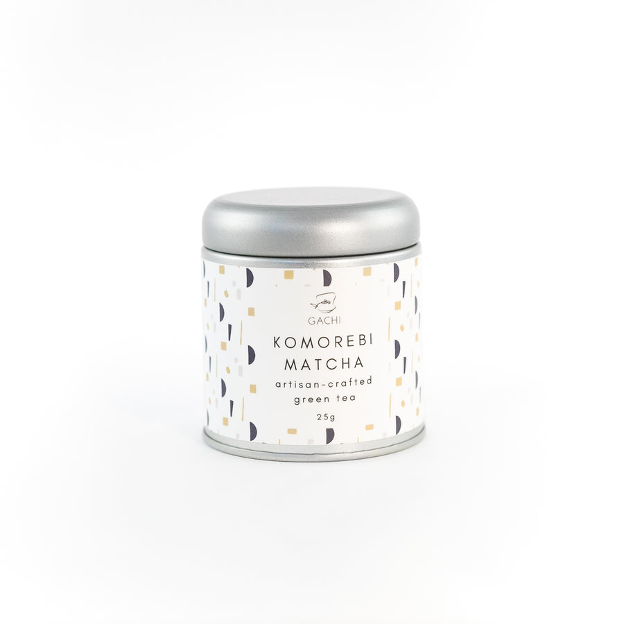 Komorebi Matcha | Premium Green Tea | Design Tin | Gachi