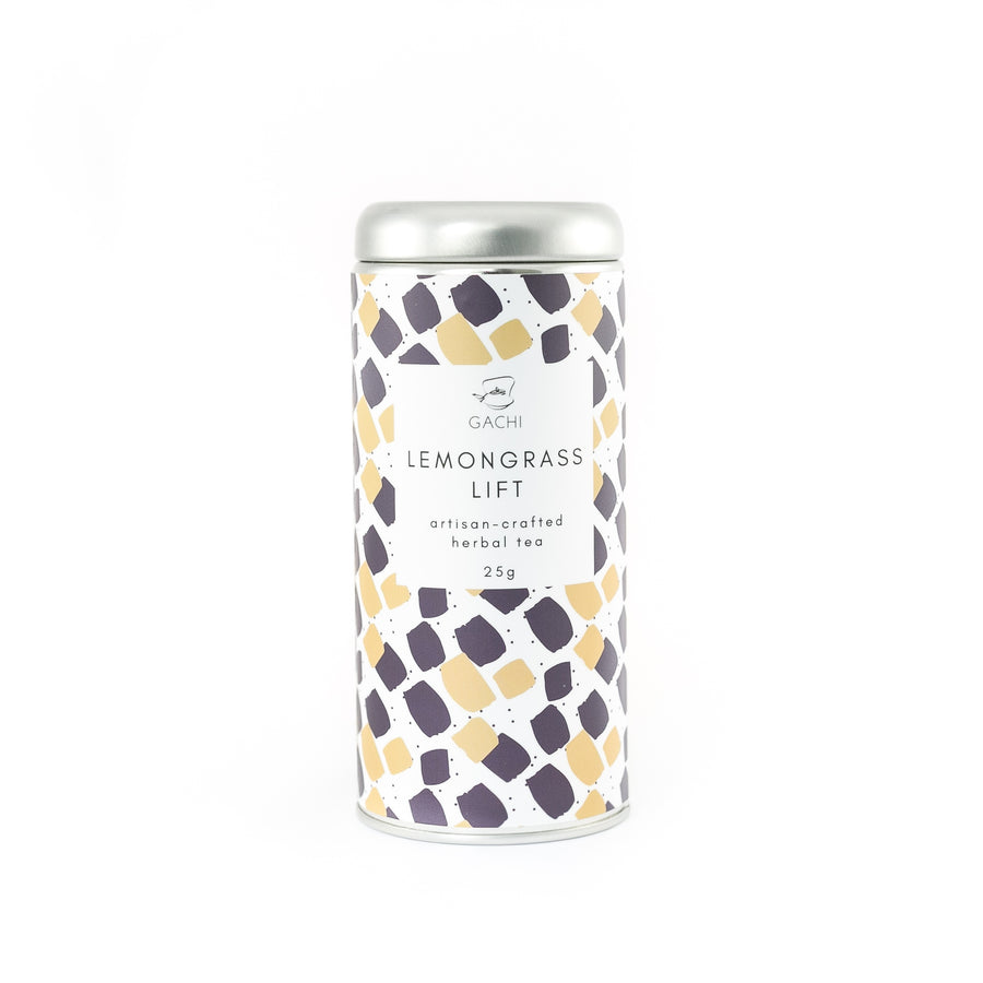 Lemongrass Lift | Premium Loose Leaf Lemongrass Tea | Design Tin | Gachi