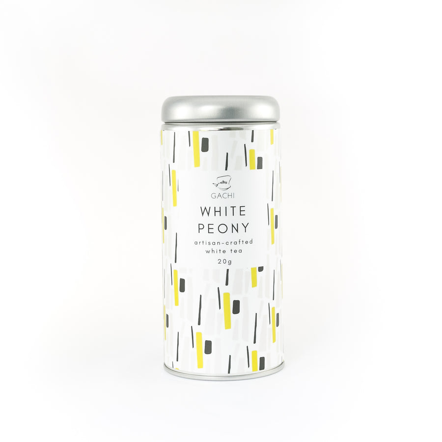 White Peony | Premium Bi Mu Dan White Tea | Design Tin | Gachi