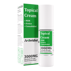 Arthridiol - Maximum Strength Muscle & Joint Relief - Cream - ERTH Hemp Products