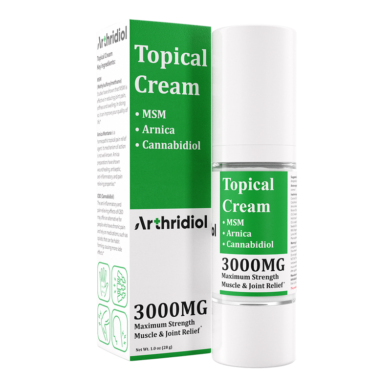 Arthiridiol topical cream - 3000MG