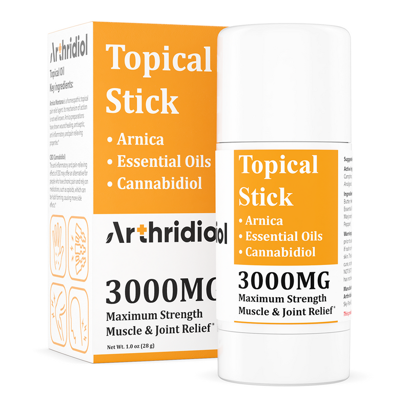 Arthridiol topical stick - 3000MG