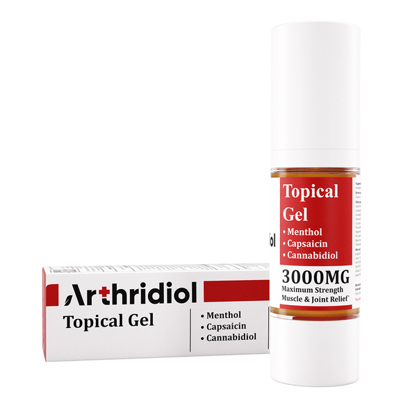 Arthridiol - Maximum Strength Muscle & Joint Relief - Gel - ERTH Hemp Products