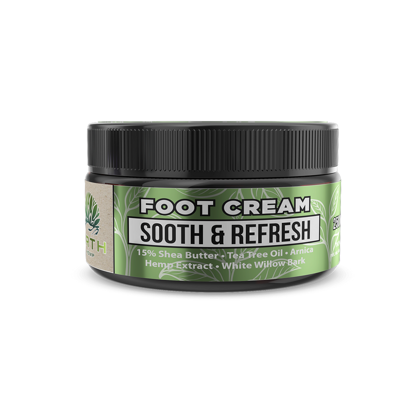 CBD Foot Cream - Sooth & Refresh - 250MG - ERTH Hemp Products