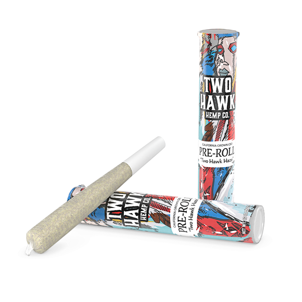 CBD Pre Roll - Two Hawk Haze - 1 Gram