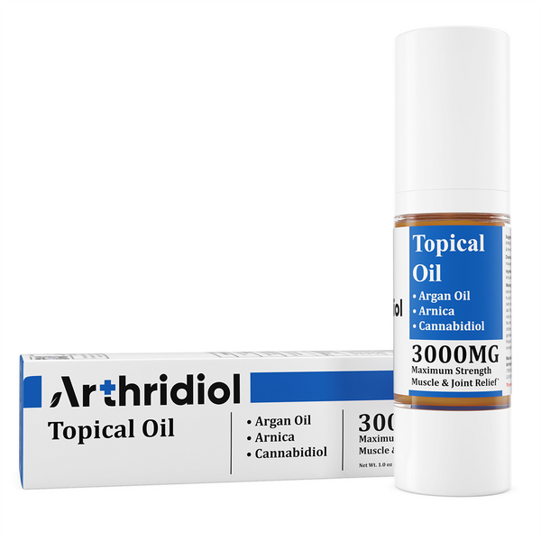 Arthridiol - Maximum Strength Muscle & Joint Relief - Oil