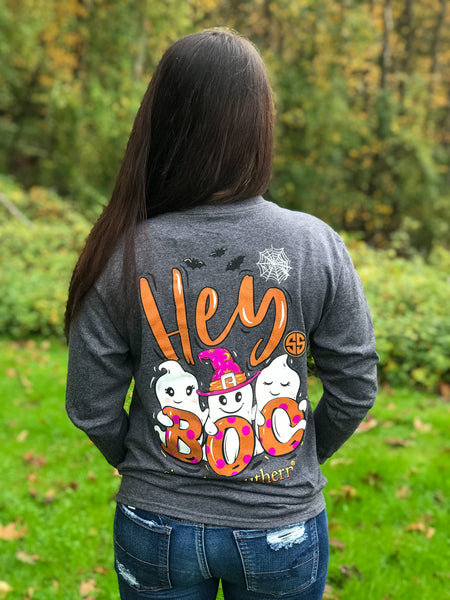 Simply Southern Boo Long Sleeved