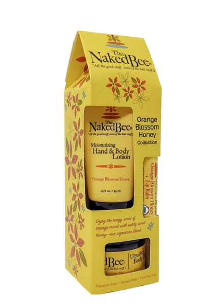 Naked Bee Orange Blossom Gift Collection