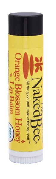 Naked Bee USDA Organic Orange Blossom Honey Lip Balm