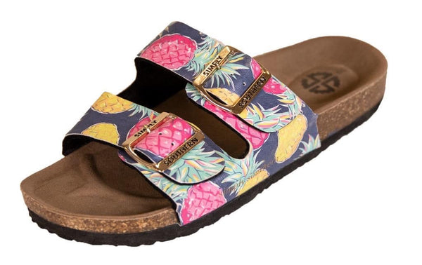 Simply Southern Pineapple Sandals