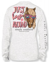 Simply Southern Just Horsin Around