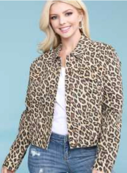 Judy Blue Cheetah jacket