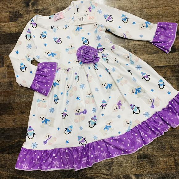 Pete + Lucy Girls Dress