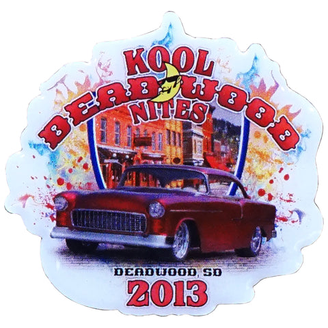 Kool Deadwood Nites 2013 Collectible Lapel Pin