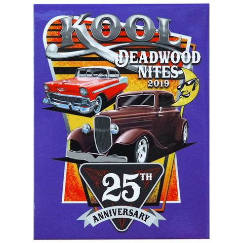 Kool Deadwood Nites 25th Anniversary Dash Plaque